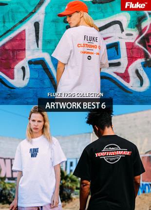 フルークアートワーク半そでTシャツBEST 6