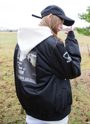 フルーク・ウォーデジタルMA-1ジャケットFMA017C102