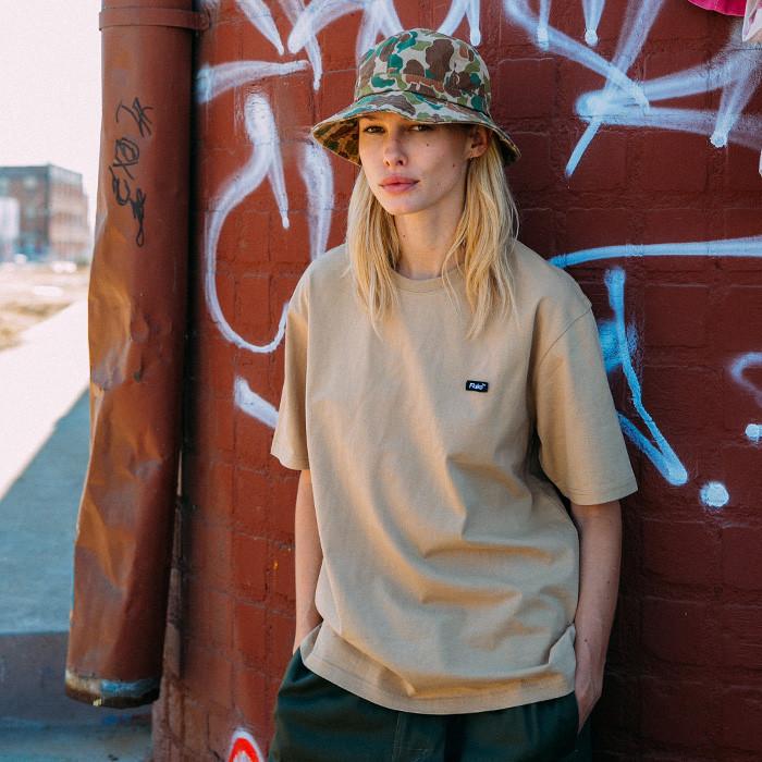フルークスモールボックスロゴ半そでTシャツFST017C101