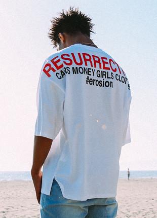 フルークベドゥメンアートワーク半そでTシャツFST017Z110