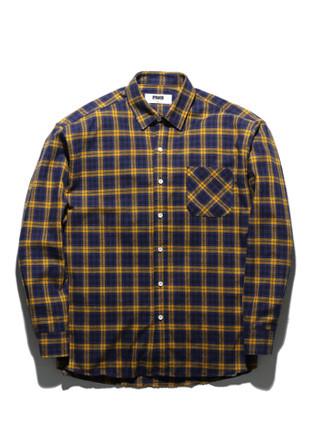 フルークチェックシャツFLS017Z304