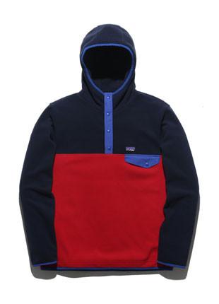 フルークアレンジフリースアノラックフードティーシャツFHT017C700